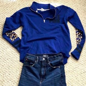 PINK Animal Accent Sweatshirt